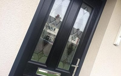 Selection of uPVC doors from around Manchester