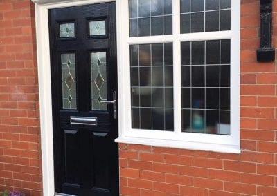 & Selection of uPVC doors from around Manchester - Viewline Northwest Ltd